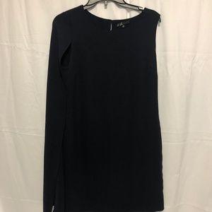 Size Medium EUC Unique Navy Blue Dress